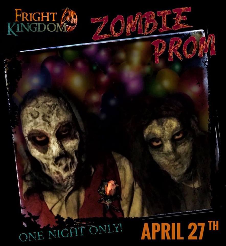 Zombie Prom Fright Kingdom Haunted House